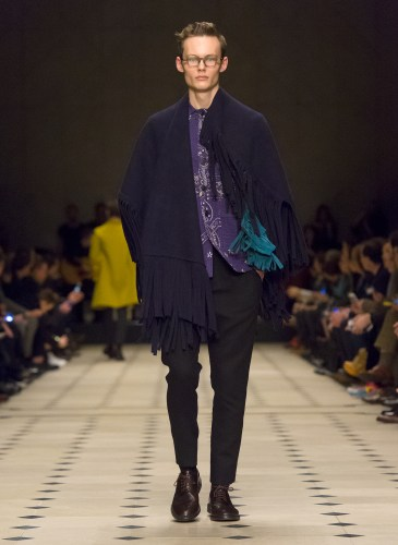 Burberry Prorsum Menswear Autumn_Winter 2015 Collection - Look 8