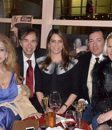 Joy Marks, Alan Marks, Nicole DiCocco, Gordon Beck and Bettina Bennett
