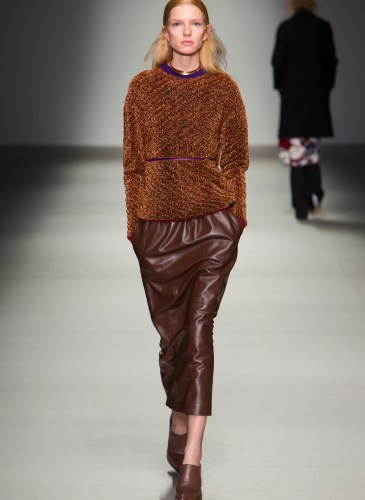 Lucas Nascimento Ready to Wear Fall Winter  2015 Collection in London