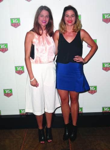 Maria Sharapova Attends TAG Heuer Party