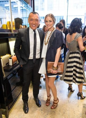 Carolina Herrera and ELLE's Joe Zee Celebrate the Opening of CH Carolina Herrera San Francisco