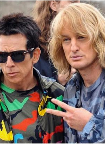 Derek Zoolander and Hansel McDonald