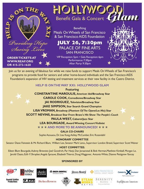 Help Is On The Way XXI: Benefit Gala & Concert