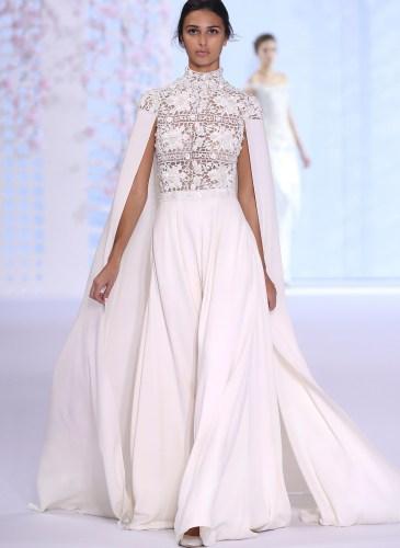 Ralph & Russo: Runway - Paris Fashion Week - Haute Couture Fall/Winter 2014-2015