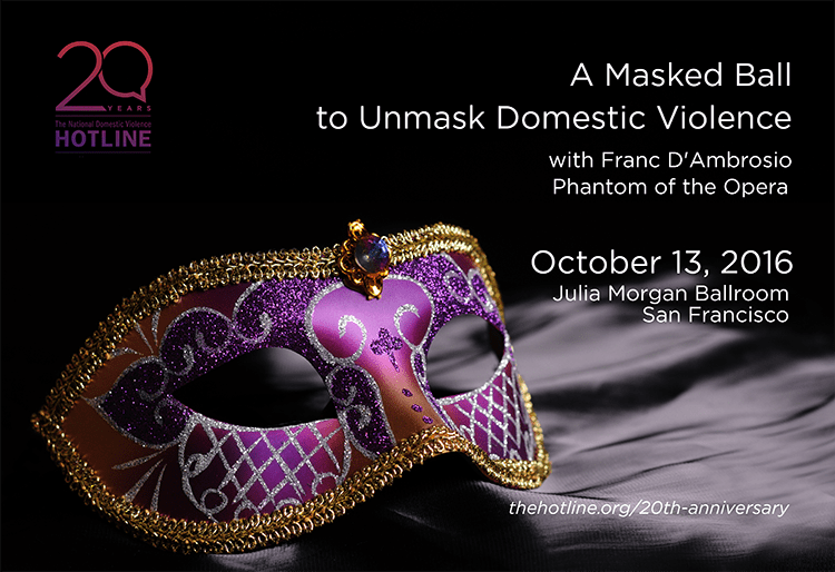 A Masked Ball To Unmask Domestic Violence