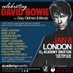 CDB - LONDON SHOW WITH GARY OLDMAN & FRIENDS