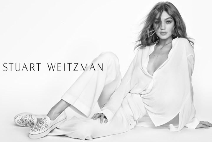 The Stuart Weitzman Spring 2017 Advertising Campaign Starring Gigi Hadid