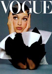 Patricia Hartmann's Vogue Cover (PRNewsFoto/Runway Rogue)