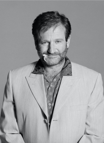Robin Williams NYC 1995 by Timothy White