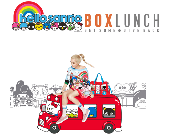 Sanrio & BoxLunch to Celebrate Launch of hello sanrio Collection