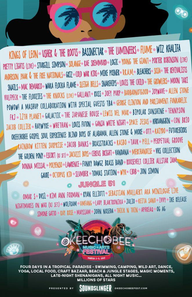 Okeechobee 2017 Poster