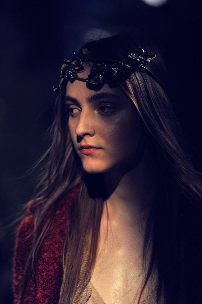 Luisa Beccaria - Milan Fashion Week FW17 © Brian George