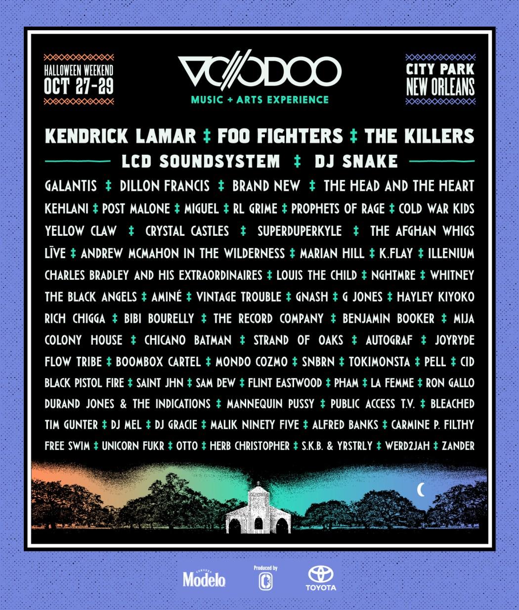 Voodoo 2017 Poster