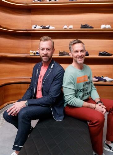 Valentino Celebrates Men's Collection