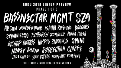 Buku Music & Art Project Launches Phase 1 Lineup