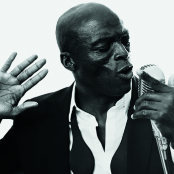 Seal Performs With The SF Symphony