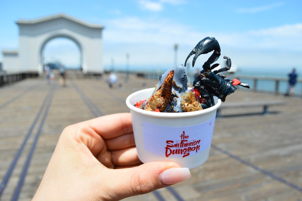 Scorpion Ice cream rules San Francisco Pier