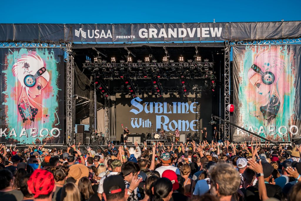 KAABOO DEL MAR PROVIDES TROPICAL VIBES WITH CLASS; ANNOUNCES FUTURE PLANS AT PETCO PARK AS KAABOO SAN DIEGO
