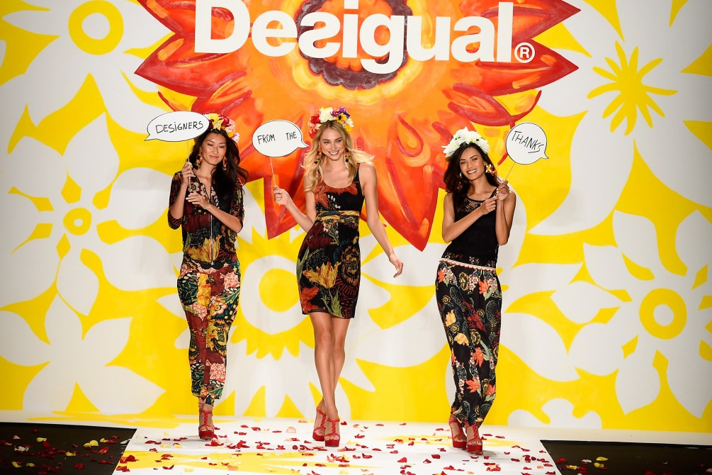 DESIGUAL at  MERCEDES-BENZ New York FASHION WEEK S/S15