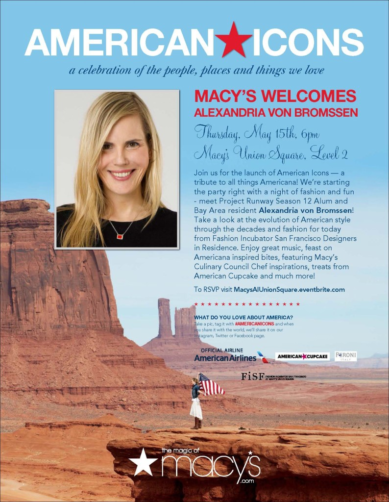 """Macy's """"American Icons"""" campaign RETURNS this SPRING"""