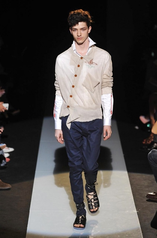 Vivienne Westwood SS15 Collection @ Milan Fashion Week: Men