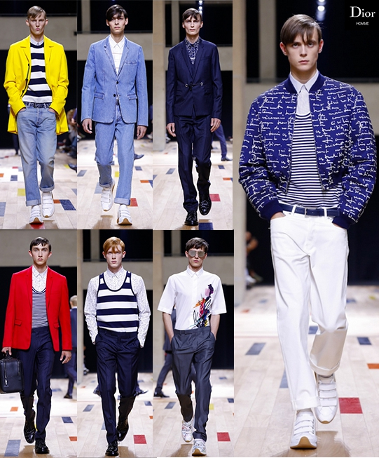Dior Homme SS15 @ Paris Fashion Week: Men
