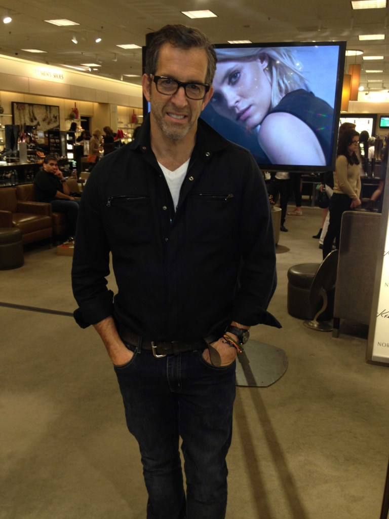 The Iconic Fashion Designer, Kenneth Cole, Stopped by Nordstrom San Francisco Centre to Celebrate his Book