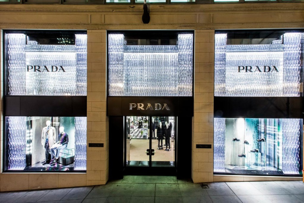 Prada Renews its Historic Store in San Francisco, California