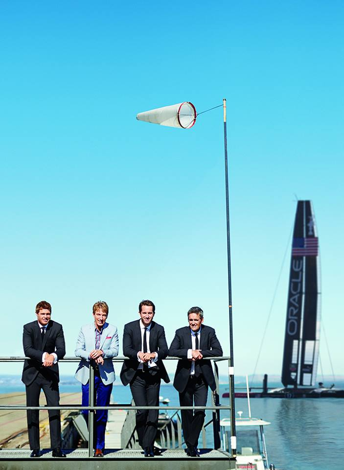 Banana Republic Chosen as Formal Attire Supplier of ORACLE TEAM USA, Defender of the 34th America's Cup