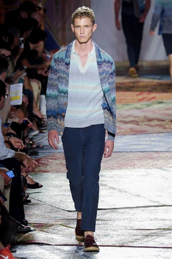 Missoni SS15 Collection @ Milan Fashion Week: Men