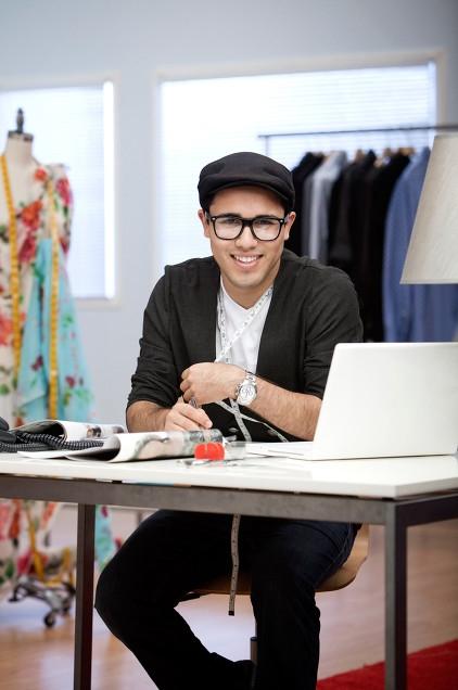 Designer Walter Mendez at LA Style Fashion Week