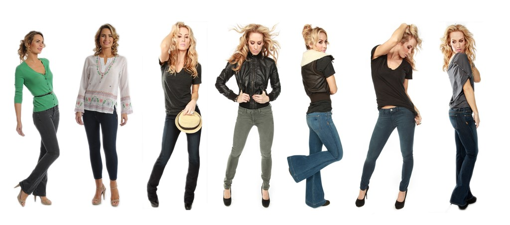 Marc Allsion Jeans: The Only Women's Premium Denim To Hold It'S Shape For 7 Days!