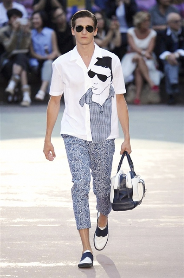 Antonio Marras SS15 @ Milan Fashion Week: Men