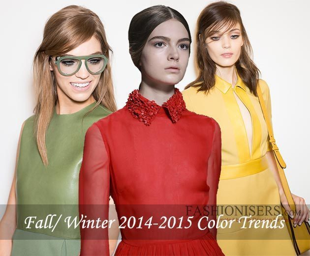 Fashionisers.com Analyzes The Hottest Color Trends of The Fall/ Winter 2014-2015 Season
