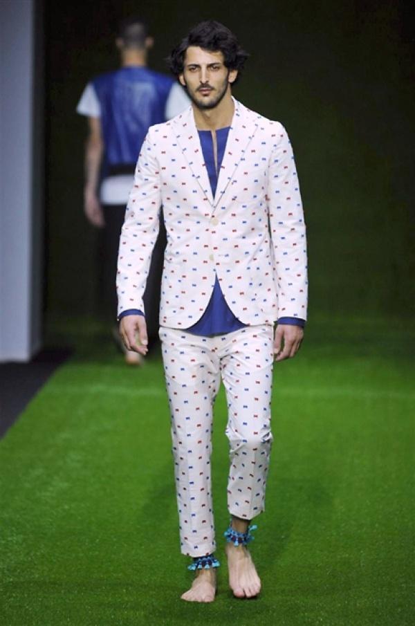 Christian Pellizzari SS15 @ Milan Fashion Week: Men