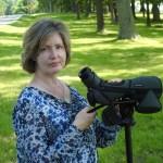 Deb Calhoun with her camera