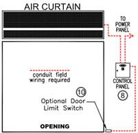 air curtain door air curtains air