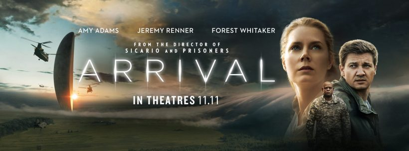 Image result for arrival poster 2016