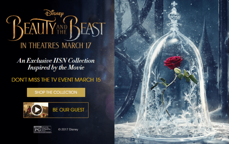 Shop The Exclusive Beauty And The Beast Collection From