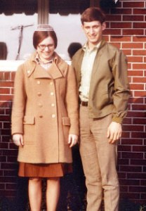 Hollinger and wife