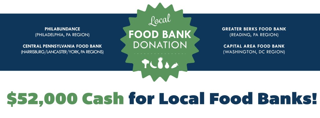 $52,000 Cash for Local Food Banks | Four Seasons