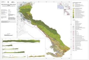 Carta geologica del Carso Classico (1/3)