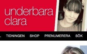 Clara Lidström driver den enda av toppbloggarna som jag personligen kan relatera till. Bild: Från Claras blogg hos Amelia