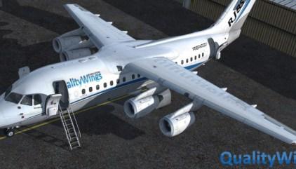 Qualitywings Ultimate 757 Collection uitgebracht voor