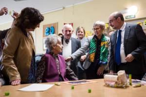 """El president d'Aragó visita la Residència """"Las Fuentes"""" gestionada per FSC com a exemple d'aplicació de la Llei de la Promoció de l'Autonomia Personal"""