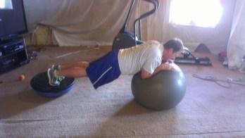 craig exercising at home 2
