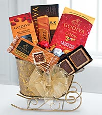 Godiva® Holiday Treats Sleigh