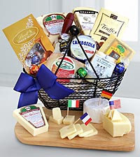 International Cheese & Chocolate Selection