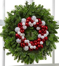 The FTD® Holiday Glamour Wreath by Better Homes and Gardens®