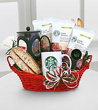 Starbucks® Italian Basket